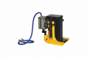 Air hydraulic toe jack