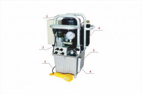 Еlectric hydraulic torque wrench pump