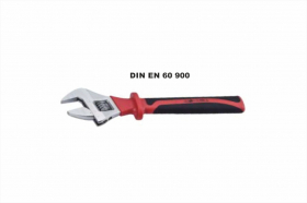 Insulated adjustable wrench 1000V