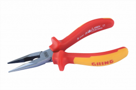 Insulated bent nose pliers 1000V