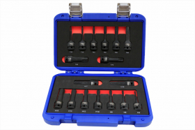 "Bit set 17 pcs 1/2""  DR."